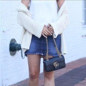 Dresses & Skirts - Express Distress Mini  Jeans Skirt size 4